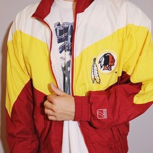Vintage Washington Redskins windbreaker